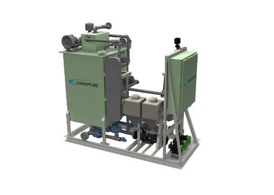 Omnipure Series 64 Sewage Treatment System